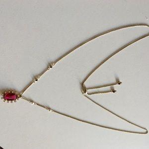 Kendra Scott Pendant Necklace EUC Adjustable